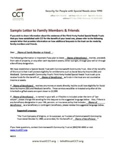 Sample letter to relatives friends cct sample letter to relatives friends spiritdancerdesigns Images